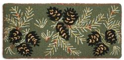 Diamond Pine Hickory Bench - 15