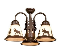 Yellowstone Light Kit  - 3 Lights - Burnished Bronze