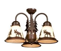 Yellowstone Light Kit  - 3 Lights - Burnished Bronze