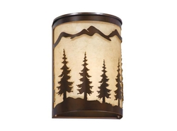 Rustic Yosemite Wall Sconce 8