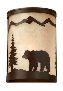 Rustic Bozeman Wall Sconce 8