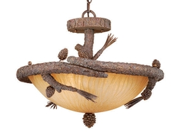 Aspen Semi-Flush Duo Mount Ceiling Light