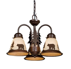 Rustic Cabin Lamps and Lighting Chandeliers