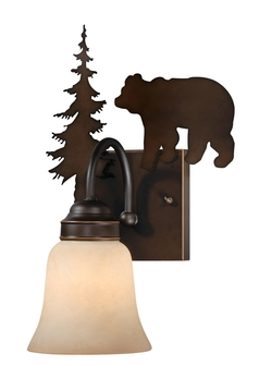 Bozeman 1L Vanity Light - Burnished Bronze