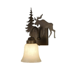 Yellowstone 1L Vanity Light - Burnished Bronze