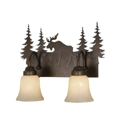 Yellowstone 2L Vanity Light - Burnished Bronze