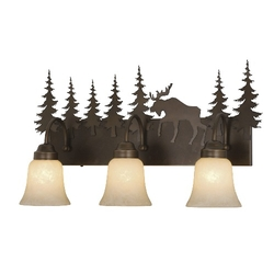Yellowstone 3L Vanity Light - Burnished Bronze