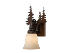Yosemite 1L Vanity Light - Burnished Bronze