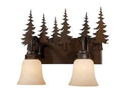 Yosemite 2L Vanity Light - Burnished Bronze