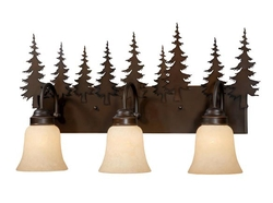 Yosemite 3L Vanity Light - Burnished Bronze