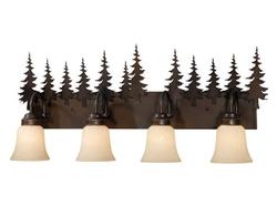 Yosemite 4L Vanity Light - Burnished Bronze