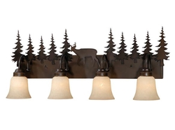 Bryce 4L Vanity Light - Burnished Bronze