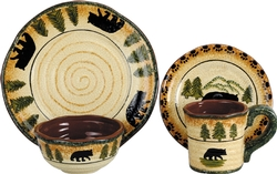 Bear Dinnerware - 16 pc. set