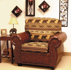 Burly Kodiak Creek Bear Chair