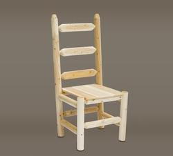Ladder Back Log Chair
