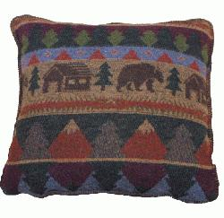 Cabin Bear Alternate Pillow