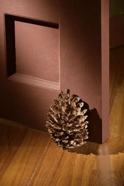 Pinecone Doorstop