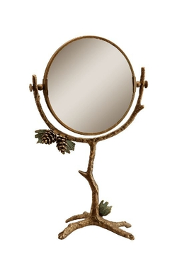 Pinecone Table Mirror
