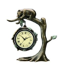 Bear & Tree Clock