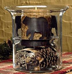 Bear Candle Pan