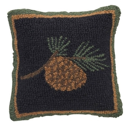 Scotch Pine Wool Hood Pillow 16