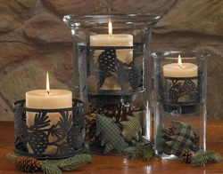 Pinecone Candle Pan 6