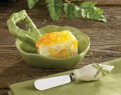 Enchanted Forest Dip Bowl with Spreader