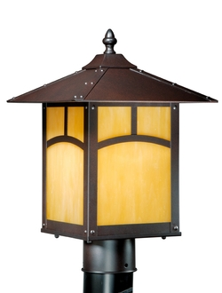 Taliesin Outdoor Post Light - Espresso Bronze