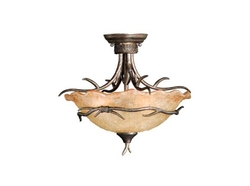 Monterey Semi Flush (Duo-Mount Pendant) Autumn Patina
