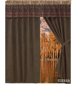 Sierra Chenille Suede Curtain - pair