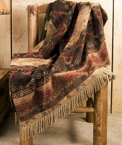 Sierra Chenille Suede Throw