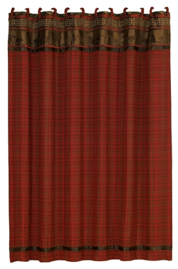 Cascade Lodge Shower Curtain