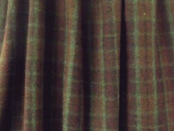 Plaid 6 Gathered Bedskirt
