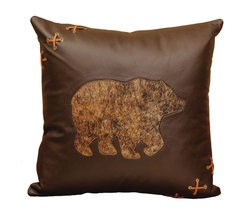 Leather Bear Pillow-18