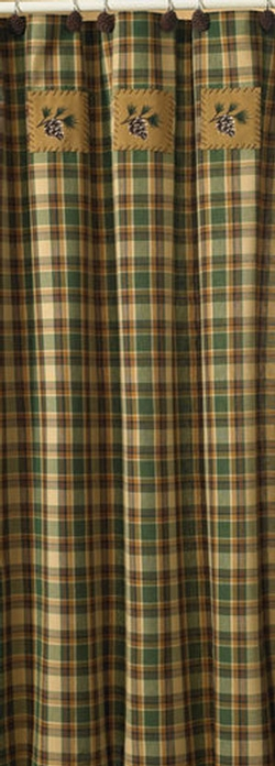 Scotch Pine Shower Curtain - 72