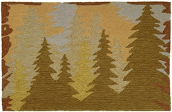 Mountain Pines Accent Rug