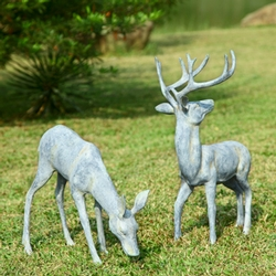 Garden Deer - Pair