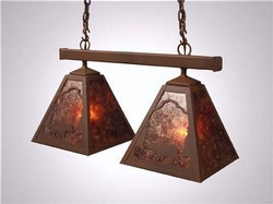 Anacosti Hanging Light - Bear - Double