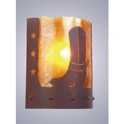 Timber Ridge Sconce - SPUR OF THE MOMENT