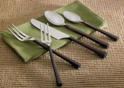 Copper Handled 5 Pc Place Setting