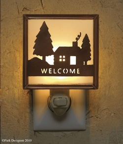 Welcome Cabin Night Light