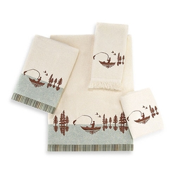 Gone Fishing Towels - Bath & Hand Towel Set