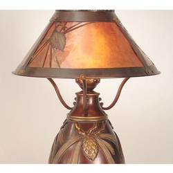 Tiffany Dana Traditional Pinecone Lamp