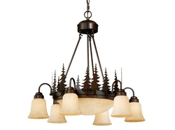 Yosemite 9 Light Chandelier