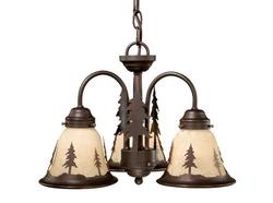 Yosemite 3L Light Kit for Ceiling Fan or Pendant