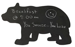 Black Bear Chalk Board