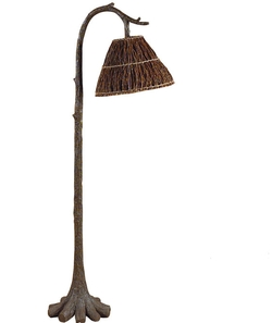 Tree Trunk Floor Lamp - 58.5