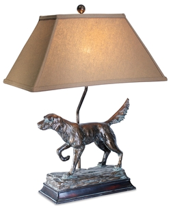 Hunting Dog Table Lamp - 28