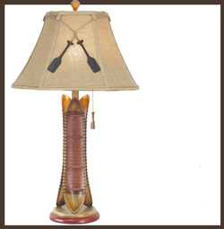 Canoe Table Lamp
