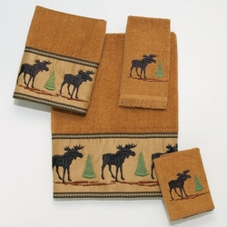 Forestry Bath Towels - Set - Bath and Hand Towel